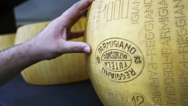 L'Italie défend son parmesane protégé par une AOP.