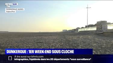 Covid-19: premier week-end confiné à Dunkerque