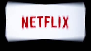 Le logo de Netflix.