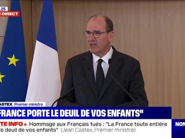 """Jean Castex: """"C'est très vraisemblablement la même haine qui était à l'oeuvre au Niger et au Bataclan"""""""