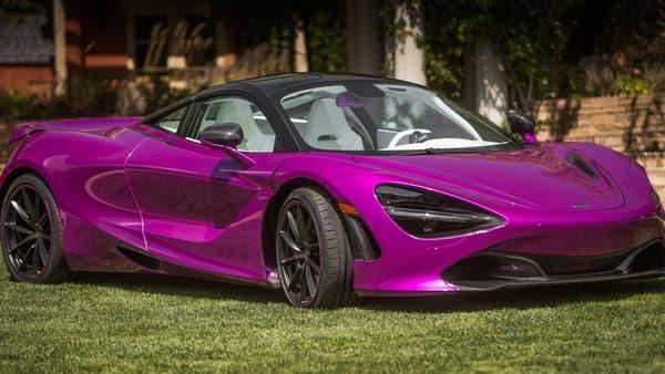 """McLaren a conçu une version unique de la nouvelle 720S, couleur """"Fux Fuchsia""""."""