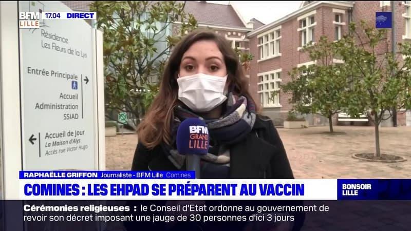 Covid-19: l'Ehpad de Comines prépare sa campagne de vaccination
