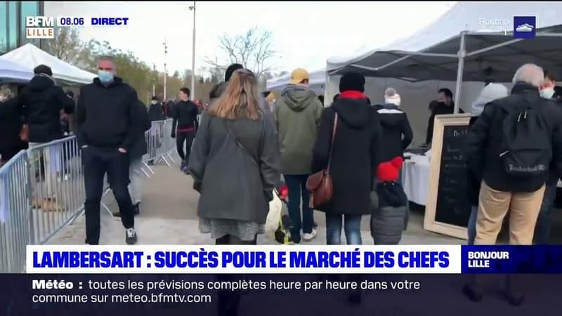 Lambersart: carton plein pour le marché des chefs