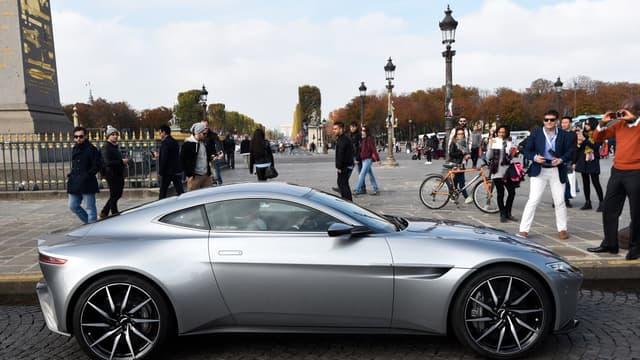 La nouvelle Aston Martin DB10 de James Bond présentée le 11 octobre