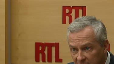 Bruno Le Maire tacle ses adversaires mardi 11 octobre.