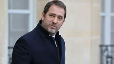 Christophe Castaner à l'Elysée le 19 décembre 2018