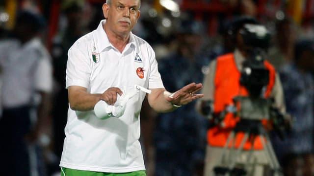 Rabah Saâdane, le sélectionneur algérien