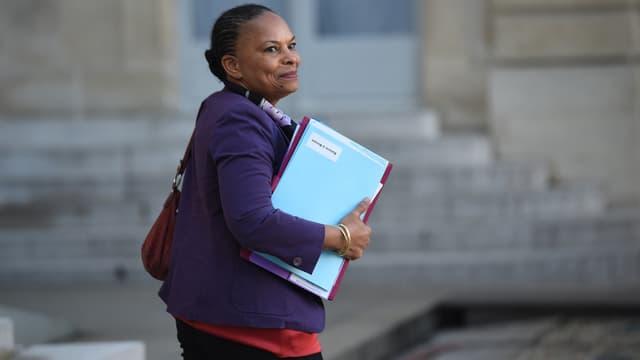 Christiane Taubira, le 23 décembre 2015