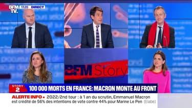 Story 1 : Emmanuel Macron en déplacement à Reims - 14/04