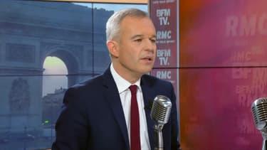 François de Rugy vendredi matin sur BFMTV et RMC.