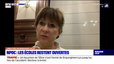 """Lille: selon la rectrice, """"le décrochage a été moins important que prévu"""""""