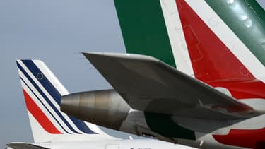 La compagnie Alitalia est placée sous tutelle.