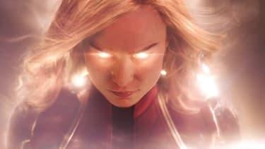"Brie Larson dans ""Captain Marvel"""