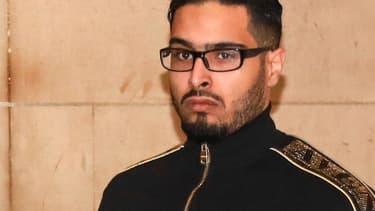 Jawad Bendaoud, à l'ouverture de son procès en novembre dernier.