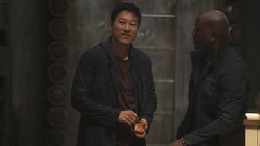 """Sung Kang et Tyrese Gibson dans """"Fast & Furious 9"""""""