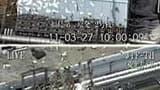 Les quatre réacteurs de la centrale nucléaire de Fukushima-Daiichi. Selon l'agence de sûreté nucléaire japonaise, les niveaux systématiquement élevés de radioactivité relevés en mer au large de la centrale atomique de Fukushima-Daiichi, dans le nord du Ja