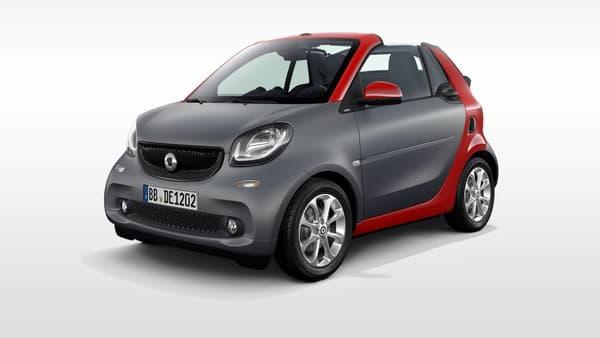 Une Smart Fortwo Cabrio, à partir de 14.150 euros