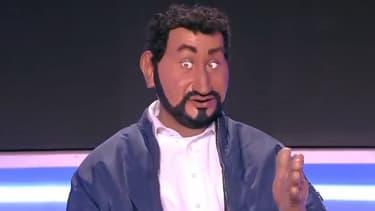 """La marionnette de Cyril Hanouna dans """"TPMP"""""""