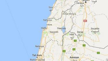 La Palestine n'est pas mentionnée sur Google Maps.