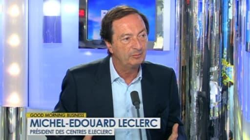 Michel-Edouard Leclerc était l'invité de BFM Business, ce mardi 25 juin.