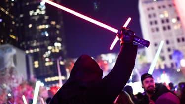 Les fans se sont précipités pour voir le dernier Star Wars.