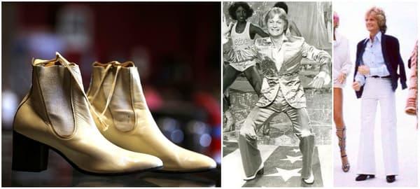 Des bottines de Claude François vendues aux enchères - Claude François en bottines à talons