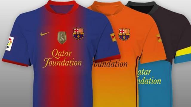 Les maillots 2012-2013