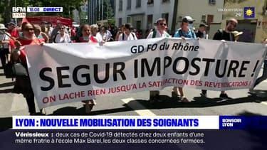 Lyon: nouvelle mobilisation des soignants à trois jours de la fin du Ségur