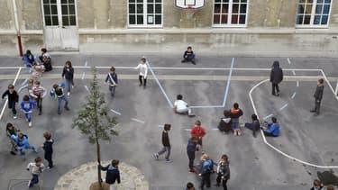 Une cour d'école (image d'illustration).