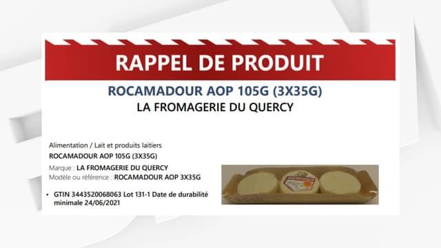 Rappel de Rocamadour