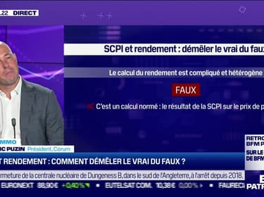 Frédéric Puzin (Corum) : SCPI et rendement, comment démêler le vrai du faux ? - 08/06