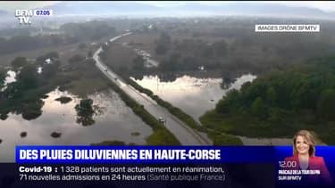 Des pluies diluviennes ont touché la Haute-Corse