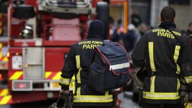 Un incendie s'est déclaré dans un atelier de maroquinerie à Paris