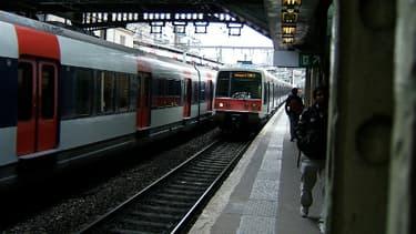Une rame de RER parisien