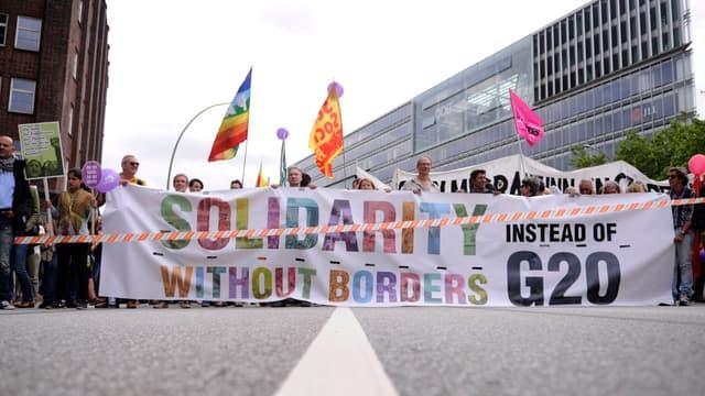 Les manifestation anti-G20 continuent samedi.
