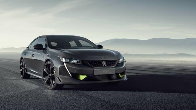 Peugeot Sport présentera dans 10 jours au salon automobile de Genève un concept de sa berline 508 hybride et sportive.