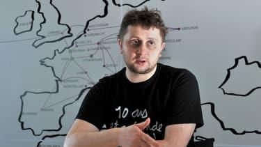 """Octave Klaba (OVH) : """"Quand j'ai créé OVH il y a 18 ans, Internet commençait à peine à se démocratiser. Aujourd'hui tout s'accélère."""""""