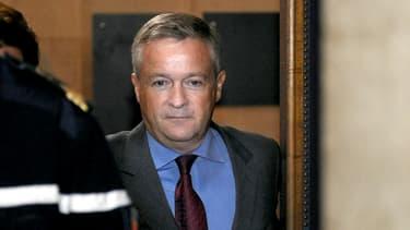 Jean-Marie Messier au palais de justice de Paris le 2 juin 2010.