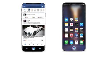 Concept d'iPhone 8 avec écran total imaginé par le cabinet de design Gabor Balogh