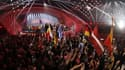 La scène du concours de l'Eurovision en 2015, à Vienne