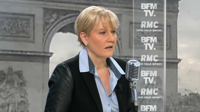 Nadine Morano sur BFMTV et RMC mardi.