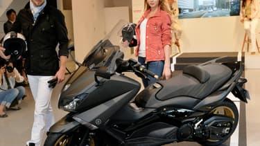 Image d'illustration - Scooter le plus vendu en Ile-de-France, le TMax de Yamaha est aussi le plus volé, notamment de vols électroniques, rapporte une enquête du Parisien.