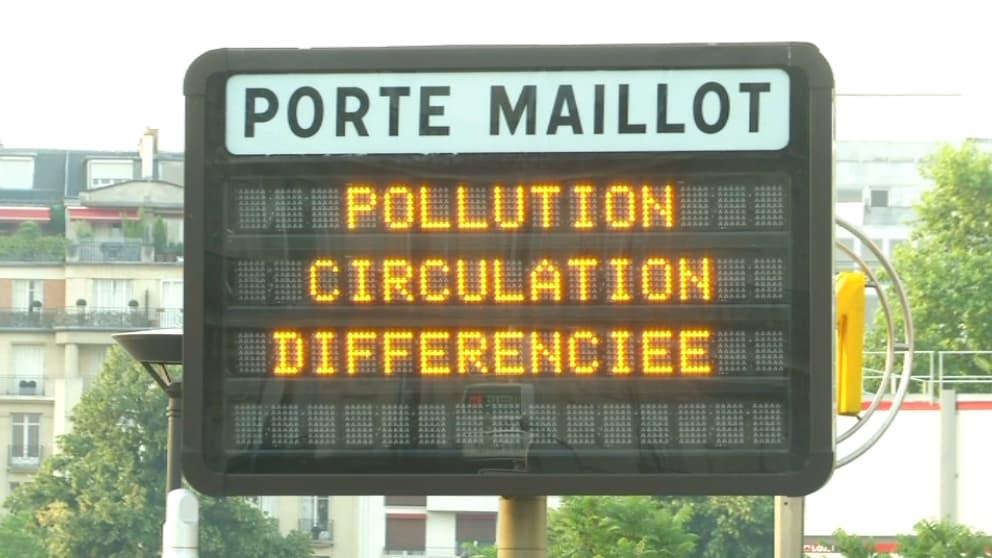 Pollution à l'ozone: fin de la circulation différenciée en Île-de-France