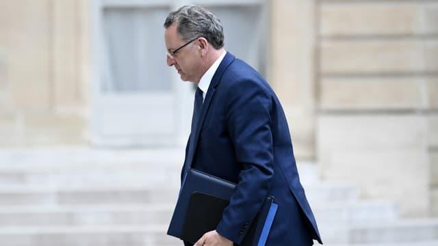 Richard Ferrand arrivant à l'Elysée le 24 mai.