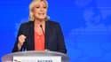 Marine Le Pen à Nice, le 1er mai 2018.