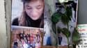 Hommage à Agnès Marin devant le domicile parisien de ses parents. Le gouvernement laisse entrevoir de nouvelles réformes législatives après le viol et l'assassinat de la jeune fille scolarisée dans un internat de Haute-Loire, crime reconnu par un pensionn