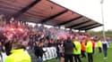 Les supporters de l'OL en fusion avant le derby