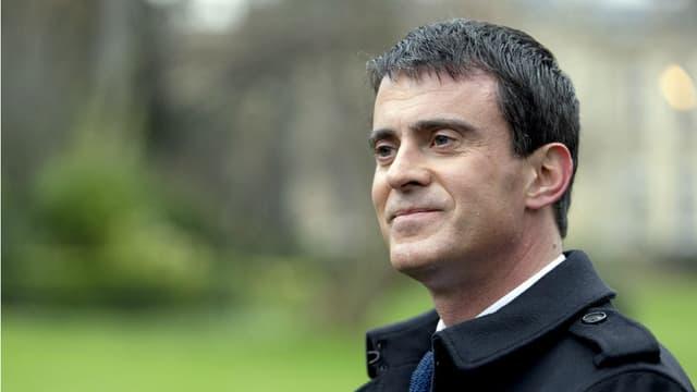 """Manuel Valls, né en Espagne est """"l'homme de l'année"""" pour le quotidien espagnol El Mundo."""