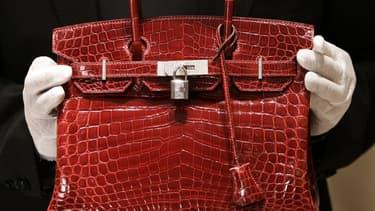 Le prix d'un Birkin d'occasion - ici lors d'une soirée à New York - peut dépasser les 10.000 euros.