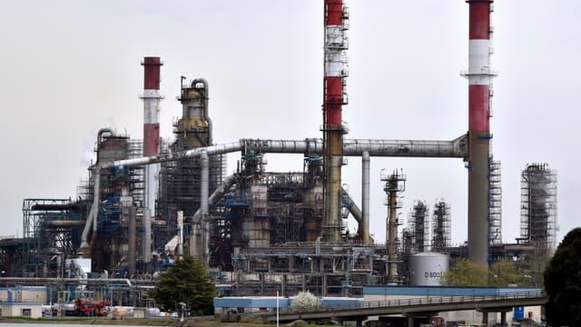 La raffinerie de Donges